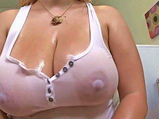 HDZOG @ Shyla Shy's Glistening Tits
