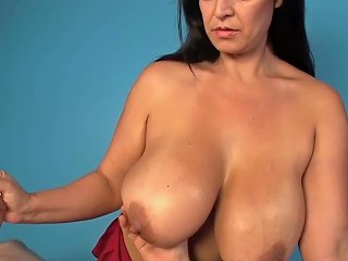 XHAMSTER @ Hugetitted Masseuse Tugs Clients Cock Hd Porn 63 Xhamster