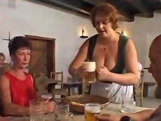 TXXX @ Huge Big Tits Petra Barmaid