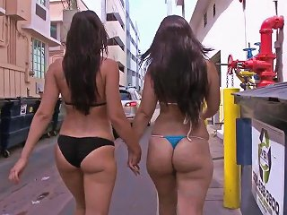 HDZOG @ Liz And Rachel Show Off Their Massive Tits