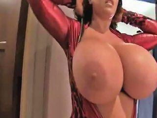 XHAMSTER @ Leanne Huge Natural Tits Red Devil Free Porn 7e Xhamster